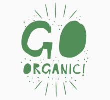 GO ORGANIC@ Kids Tee