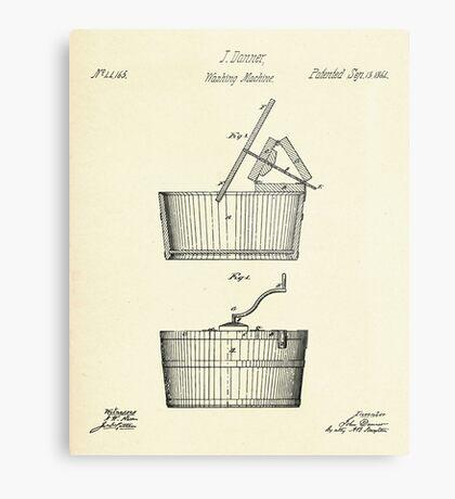 Washing Machine-1864 Metal Print