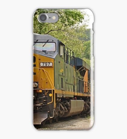 Comin' Right At Choo iPhone Case/Skin