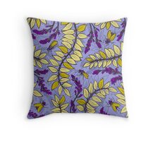 Sandelholz flower pattern Throw Pillow