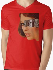 I'm Watching You! Mens V-Neck T-Shirt