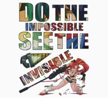 Do The Impossible, See The Invisible - Yoko One Piece - Short Sleeve