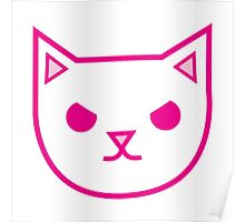 mad kitty cat Poster