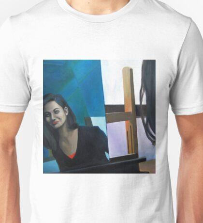 Mirror, 2011, 100-100cm, oil on canvas Unisex T-Shirt