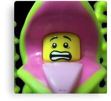 Lego Plant Monster minifigure Canvas Print