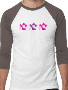 shoes and bows Men's Baseball ¾ T-Shirt