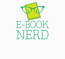 e-book nerd Womens Fitted T-Shirt