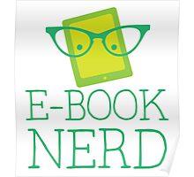 e-book nerd Poster