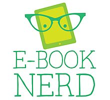e-book nerd Photographic Print