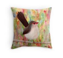 Sweet Bird Throw Pillow