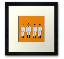 Clockwork Squad Framed Print