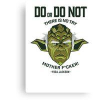 Do or Do Not - Yoda Jackson Canvas Print