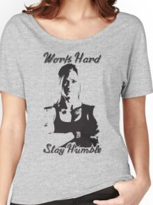 Work Hard, Stay Humble (Holly Holm) Women's Relaxed Fit T-Shirt