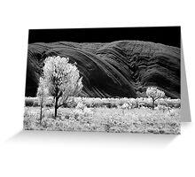 Rockwaves - Infrared Greeting Card