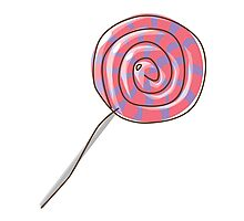 lollipop Photographic Print
