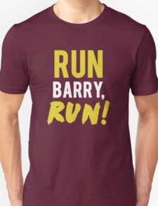 Run Barry, Run! - The Flash T-Shirt