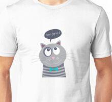 Bonjour Mr Cat Unisex T-Shirt