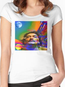 Dream of Salvador Dali Women's Fitted Scoop T-Shirt