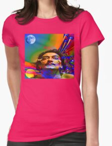 Dream of Salvador Dali Womens Fitted T-Shirt