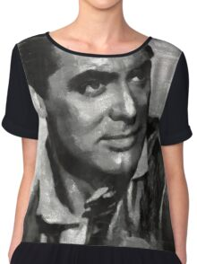 Cary Grant by MB Chiffon Top