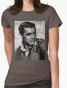 Cary Grant by MB Womens Fitted T-Shirt