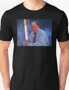 George Costanza cigarette bat vaporwave 420 T-Shirt