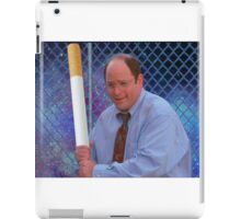 George Costanza cigarette bat vaporwave 420 iPad Case/Skin