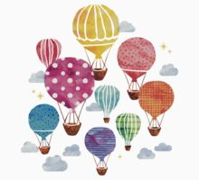 Hot Air Balloon Baby Tee