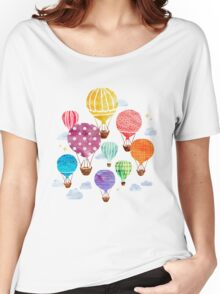 Hot Air Balloon Women's Relaxed Fit T-Shirt