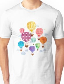 Hot Air Balloon Unisex T-Shirt
