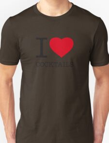 I ♥ COCKTAILS T-Shirt