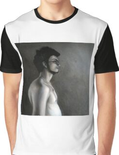 Side face, 2010, 100-100cm, oil on canvas Graphic T-Shirt