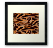 0599 Ruddy Brown Tiger Framed Print