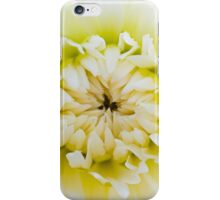 White Dahlia iPhone Case/Skin