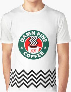 Damn Fine Coffee - Twin Peaks Graphic T-Shirt