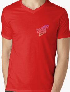 Rick and Morty, WUBBALUBBADUBDUB Mens V-Neck T-Shirt