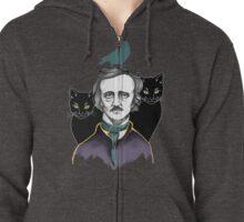 Edgar Allan Poe Zipped Hoodie