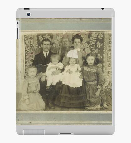 """""""Family Retro""""... prints and products iPad Case/Skin"""
