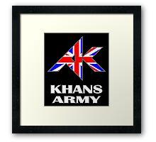 Khans Army Framed Print