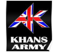 Khans Army Poster