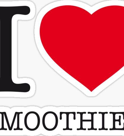 I ♥ SMOOTHIES Sticker