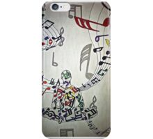 Music Makes The Soul iPhone Case/Skin