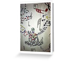 Music Makes The Soul Greeting Card