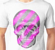 Pink Bling Skull Unisex T-Shirt