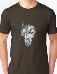 Bad Fox Skull Rotten T-Shirt