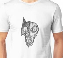 Bad Fox Skull Rotten Unisex T-Shirt