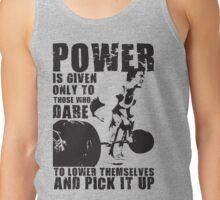 POWER (Arnold) Tank Top