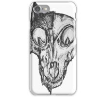 Bad Fox Skull Rotten iPhone Case/Skin