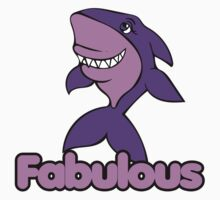 Fabulous Shark One Piece - Short Sleeve