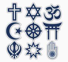 World Religions Kids Tee